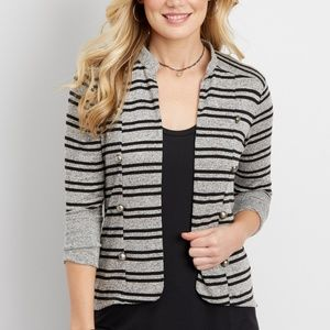 Maurices Size 2 Military Inspired Cardigan